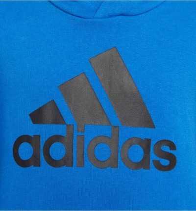 Sudadera con capucha Casual ADIDAS Yb Logo Hood