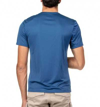 Camiseta M/c Casual REEBOK Wor Tech Top Graphi Bunblu