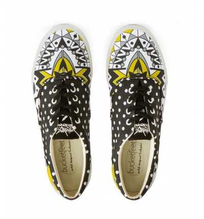Zapatillas Laces Casual BUCKETFEET Minigoddess