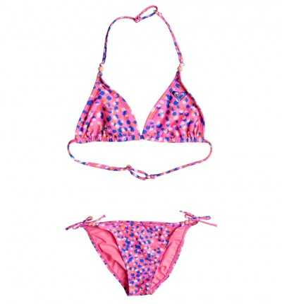 Bikini Rosa Niña ROXY Tiki Tri Set G