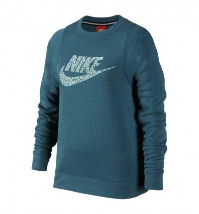 nike girls modern crew casual 859992