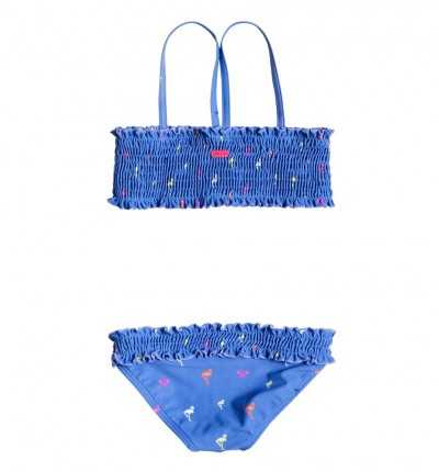 Bikini Azul Niña ROXY Pop Flamingos S K