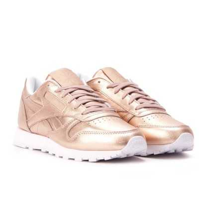 Zapatillas Casual REEBOK Cl Lthr Melted Meta