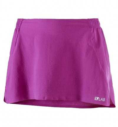 Falda Short Trail Running SALOMON S Lab Light Skirt