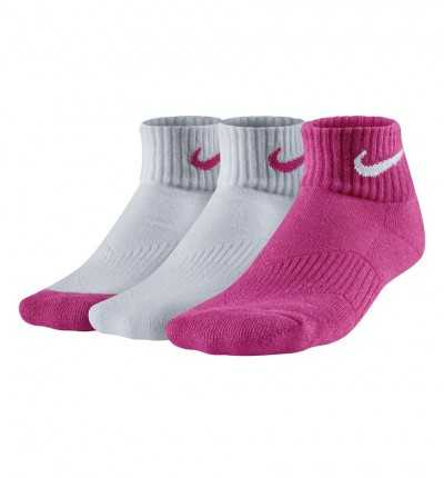 Calcetines Casual NIKE Kids´ Nike Cotton Cushion Quarte