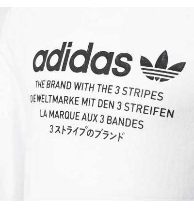 Camiseta de manga larga Casual ADIDAS J Nmd Ls Tee
