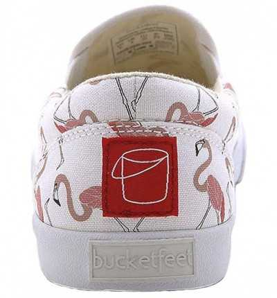 Slip On Casual BUCKETFEET Flamingos