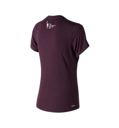 Camiseta Running NEW BALANCE Camiseta Mc Heather Nyc