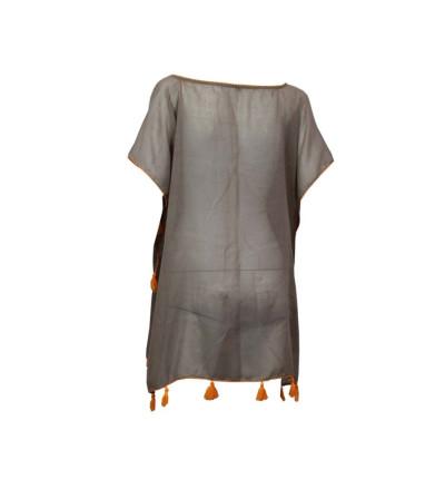 Dress/vestido Baño BANANA MOON Cumbia Farfalp Poncho Beachwear