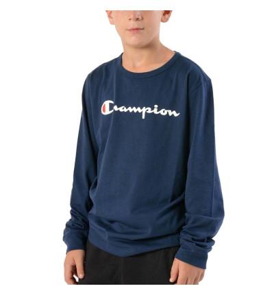 Camiseta M/l Casual_Niño_CHAMPION Long Sleeve T-shirt