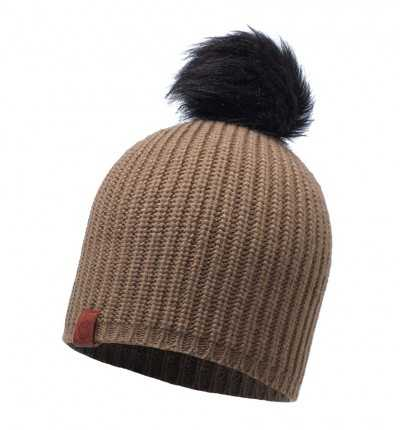 Gorro, Beanies Trail BUFF Knitted Hat Adalwolf Brown Taupe