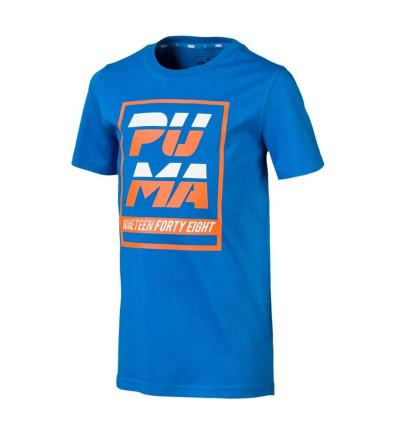 Camiseta M/c Casual_Niño_PUMA Alpha Graphic Tee