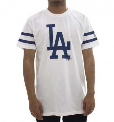Camiseta M/c Casual NEW ERA Los Angeles Dodgers Mlb Team Logo Tee Ne