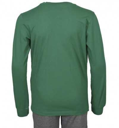 Camiseta manga larga Casual para hombre CHAMPION CHIP Long Sleeve Crewneck