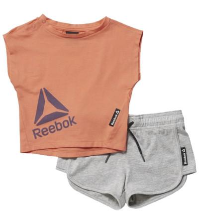 Conjunto Fitness Casual REEBOK G Es Inf Sj Ss Set Fircor