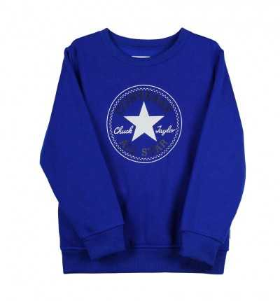 Sudadera Casual Niño CONVERSE Chuck Patch Fleece Crew