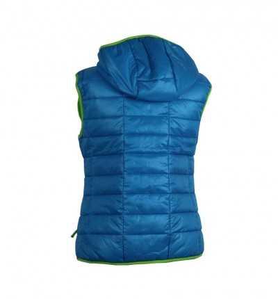 Chaleco casual con capucha IZAS Ascent Wo Azul