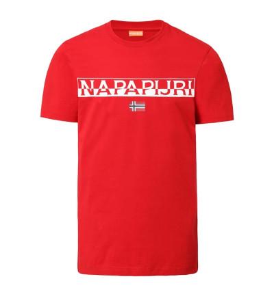 Camiseta M/c Casual NAPAPIJRI Saras Solid