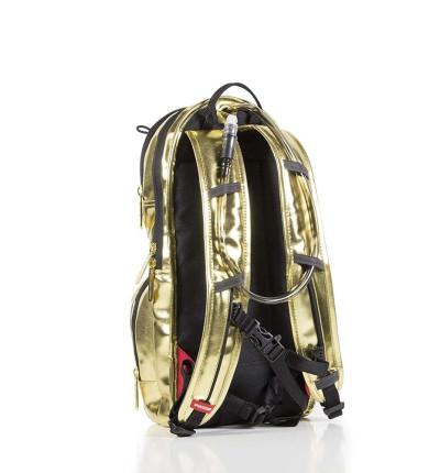 Mochila Hidratante SPRAYGROUND Gold Metallic Hydropack