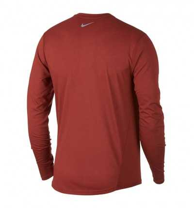 Camiseta M/l Running_Hombre_Nike Rise 365