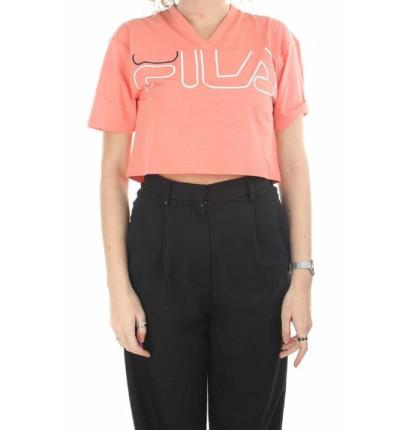 Camiseta M/c Casual FILA Women Leda Wide Tee