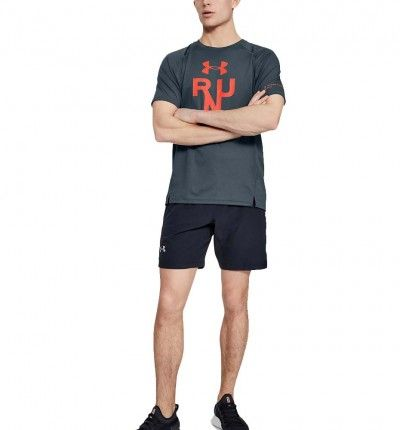 Camiseta M/c Running UNDER ARMOUR Ua Qualifier Glare Shortsleeve