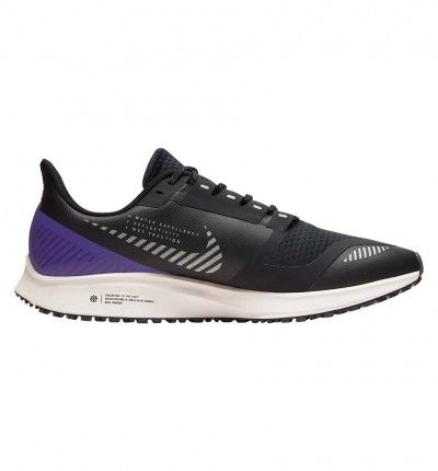 Zapatillas Running Nike Pegasus 36 Shield 38 Negro