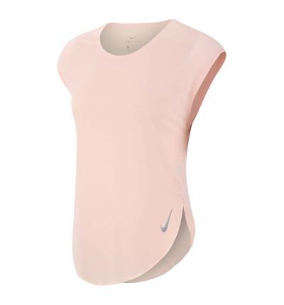 Camiseta Running Mujer Nike City Sleek