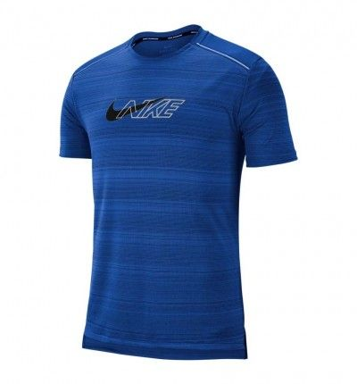 Camiseta M/c Running NIKE Nk Df Miler Ss Flash Nv