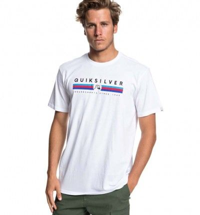 Camiseta M/c Casual QUIKSILVER Get Bizzy ss M Tees