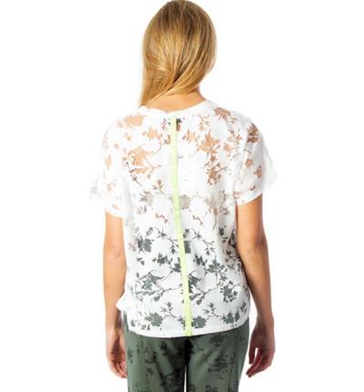 Camiseta M/c Casual DESIGUAL T-shirt Devore Gardens
