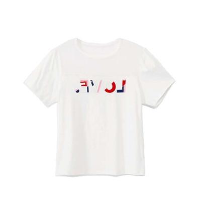 Camiseta M/c Casual DESIGUAL Tshirt Mesh Love