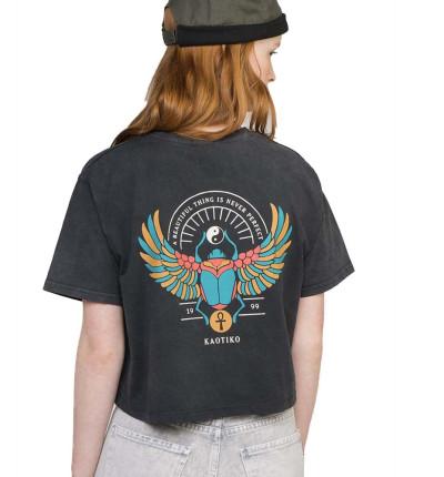 Camiseta M/c Casual KAOTIKO M/c Tie Dye Escarabeo