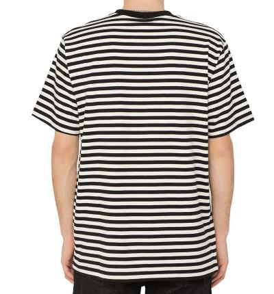Camiseta M/c Casual KAOTIKO M/c Rayas Corazon
