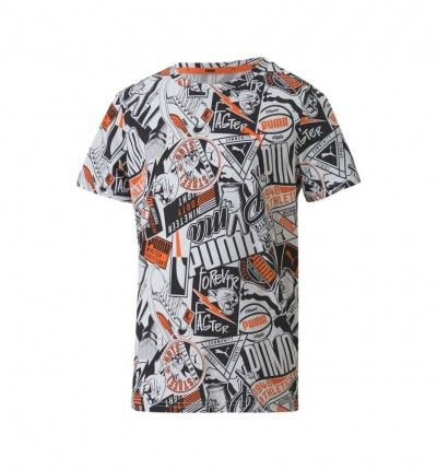 Camiseta Casual Niño PUMA Alpha Aop Tee manga corta
