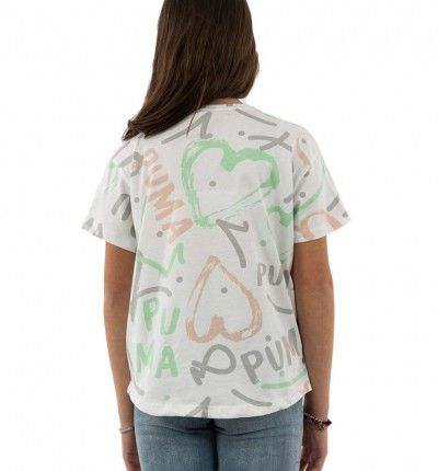 Camiseta Niña Casual PUMA Alpha Tee Manga Corta