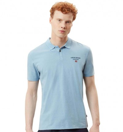 Polo Casual Hombre NAPAPIJRI Eonthe Dusk Light