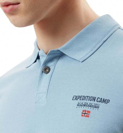 Polo Casual_Hombre_NAPAPIJRI Eonthe Dusk Light
