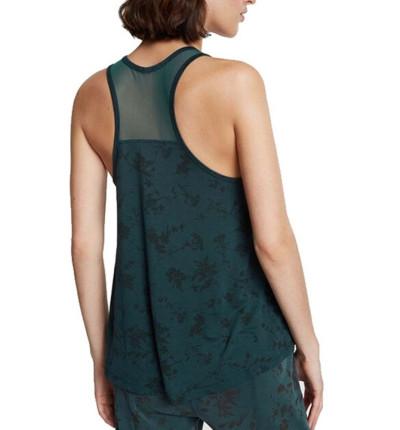 Camiseta Tirantes Casual Mujer DESIGUAL Tank Lyocell Mesh Gardens