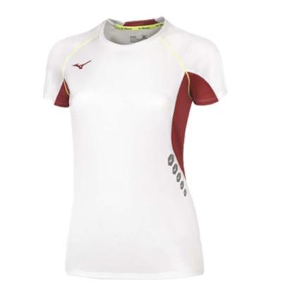 Camiseta Running Mujer MIZUNO Team Prem Jpn Tee Wos