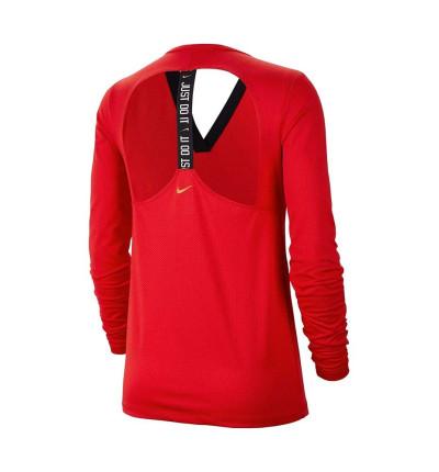 Camiseta M/l Fitness Nike Dri-fit