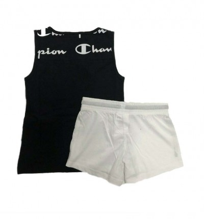 Conjunto - Short & Shirt Casual_Niña_CHAMPION Set