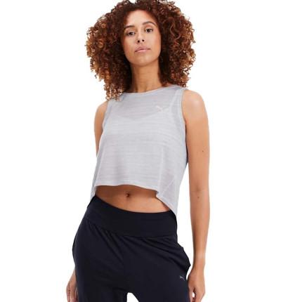 Top Fitness PUMA Studio Crop Lace Tank