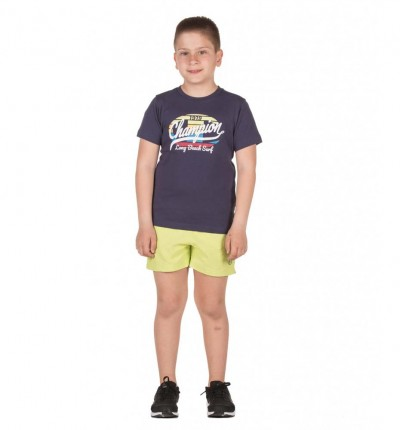 Conjunto - Short & Shirt Casual_Niño_CHAMPION Set