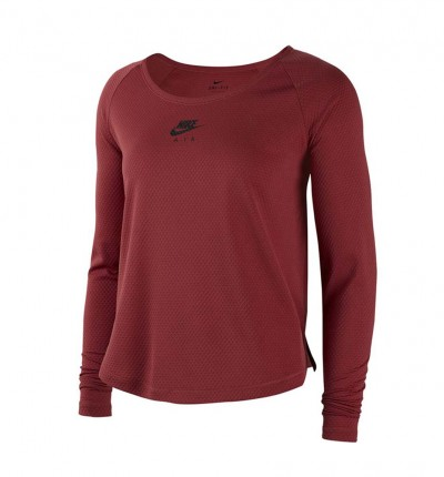 Camiseta ML Técnica Running Mujer NIKE W Nk Top Ls Air