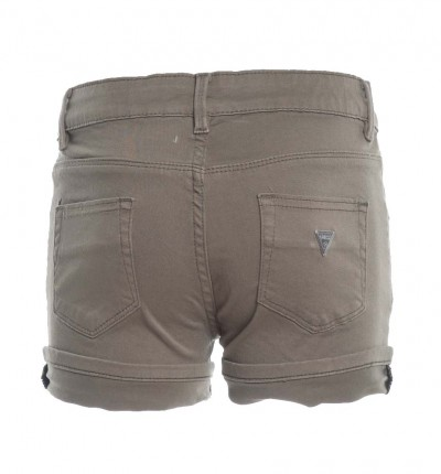 Short Casual Niña GUESS Short Core marrón