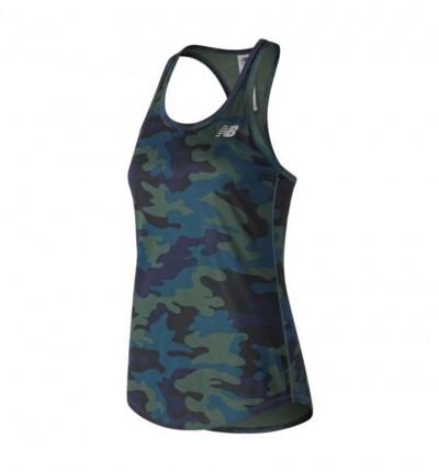 Camiseta Tirantes Running Mujer New Balance Printed Accelerate Tank V2
