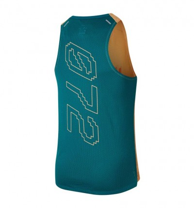Singlets Running Nike Dri-fit Rise 365 Wild Run