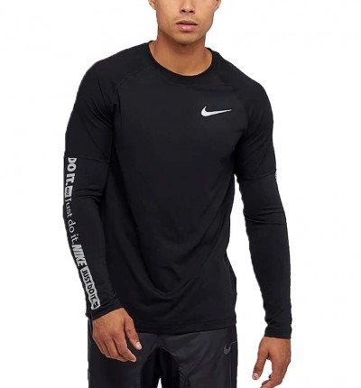 Camiseta M/l Running Hombre Nike Element Top