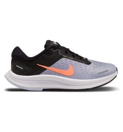 Zapatillas Running Mujer Nike Air Zoom Structure 23 38 Gris